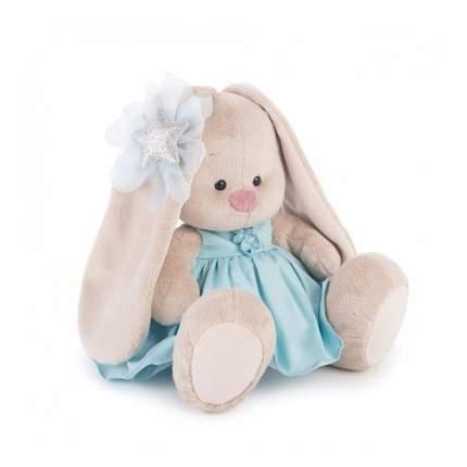 Мягкая игрушка BUDI BASA Зайка Ми в голубом платье со звездой 23 см