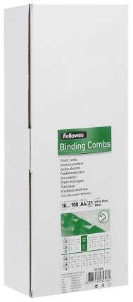 Набор пластиковых пружин Fellowes FS-53458 Белый
