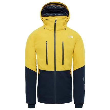 Спортивная куртка мужская The North Face Anonym, leopard yellow urban navy, L