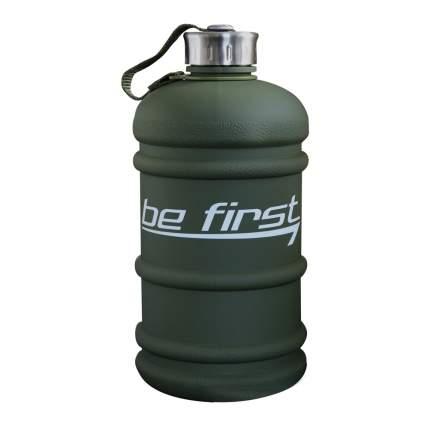 Бутылка для воды Be First 2200 мл, хаки матовая