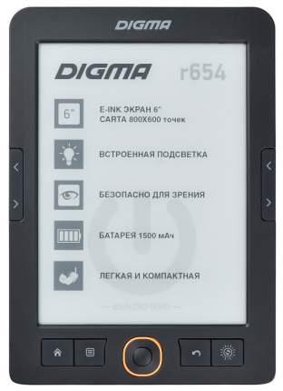 Электронная книга Digma R654 Black