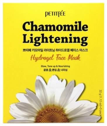 Маска для лица Petitfee Chamomile Lightening Hydrogel Face 32 мл