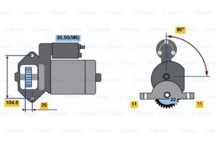 Стартер Bosch 0 986 022 561