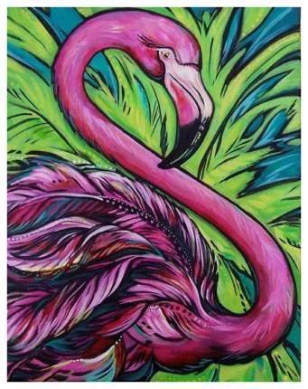 Картина Color Kit Розовый фламинго - Картина со стразами CKC007