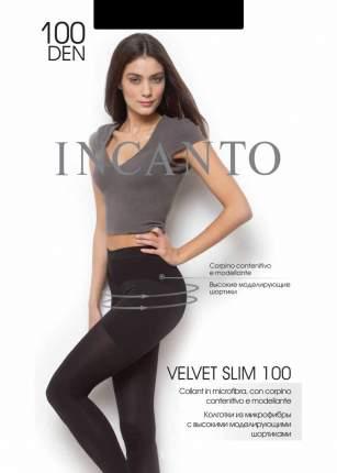 """Колготки женские Incanto """"Velvet Slim 100 """" nero, размер 5"""