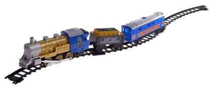 Железная дорога JOY TOY Мой первый поезд со световыми, звуковыми и дымовыми эффектами