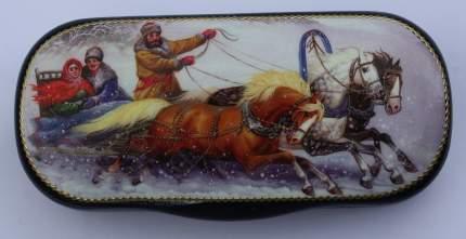 Вишня в шоколадной глазури Кремлина очечник ручная роспись зимние катания 0.04 г