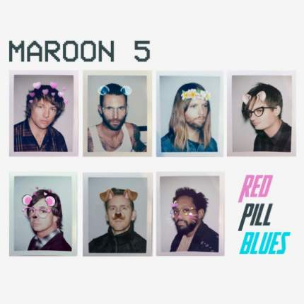 "Аудио диск Maroon 5 ""Red Pill Blues"" CD"