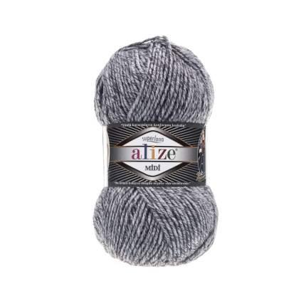 Пряжа для вязания Ализе Superlana midi (25%шерсть, 75%акрил) 5х100гр/170м цв,801 серый жас