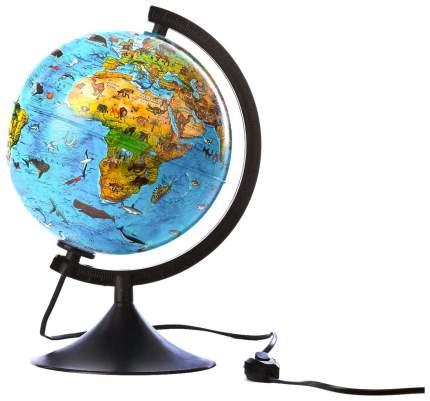 Детский зоогеографический глобус Globen свет 21 см