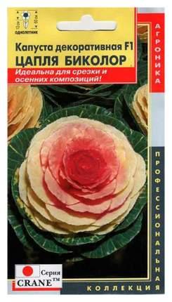 Семена Капуста декоративная Цапля Биколор F1, 7 шт, Плазмас