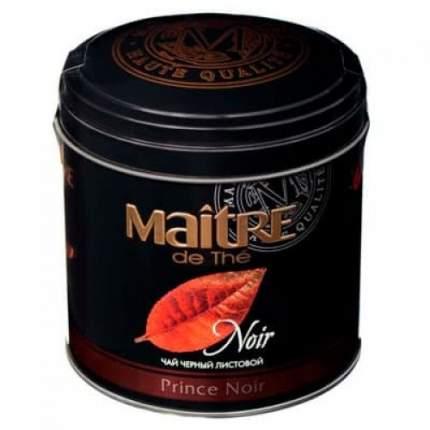 Чай черный  Maitre prince noir листовой 150 г