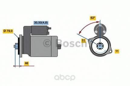 Стартер Bosch 0001121435