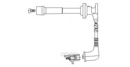 Провод высоковольтный ford/mazda BREMI 660f47