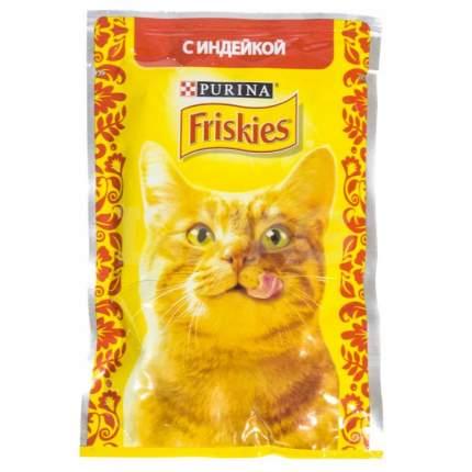 Влажный корм для кошек Friskies, c индейкой в подливе, 85г