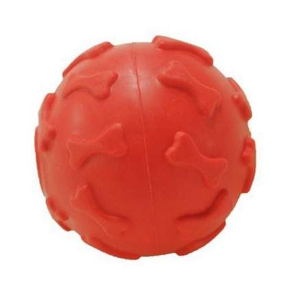 Игрушка для собак HOMEPET, резина, красный