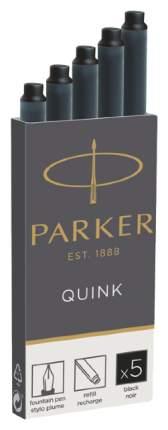 Картриджи чернильные Parker Quink для перьевой ручки 1950382 Черный