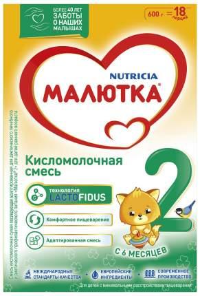 Смесь Малютка Nutricia Кисломолочная 2 с 6 месяцев 600 г