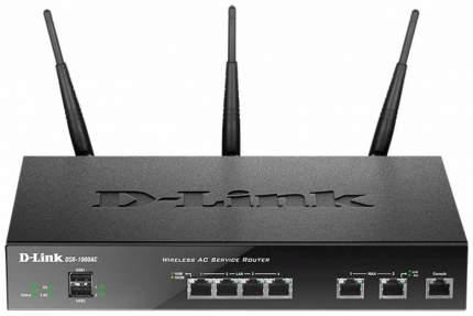 Wi-Fi роутер D-Link DSR-1000AC Black