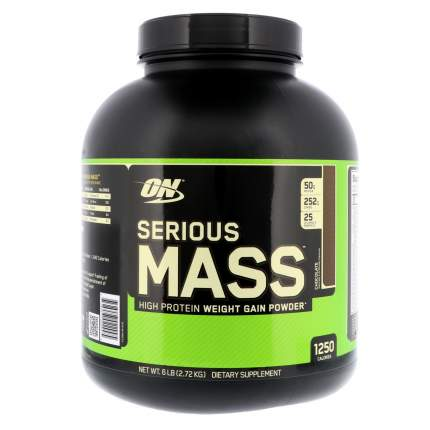 Гейнер Optimum Nutrition Serious Mass, 2700 г, chocolate