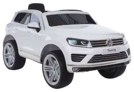 Радиоуправляемый детский электромобиль Jiajia Volkswagen Touareg Белый