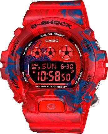 Японские наручные часы Casio G-Shock GMD-S6900F-4E с хронографом