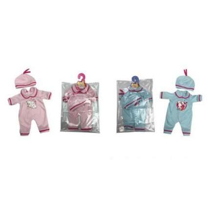 НАША ИГРУШКА Комплект одежды для куклы Сердечко, 2 предмета YLC41E