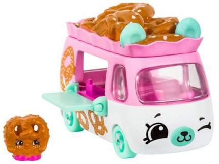 Машинка пластиковая Cutie Cars Pretzel express с фигуркой Shopkins, 3 сезон