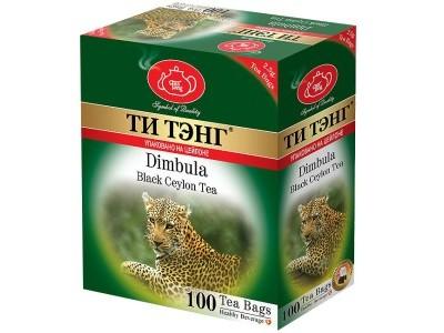 Чай черный в пакетиках для чашки Ти Тэнг Dimbula 100*2.5 г