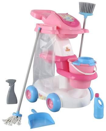 Набор для уборки игрушечный Полесье Помощница-4