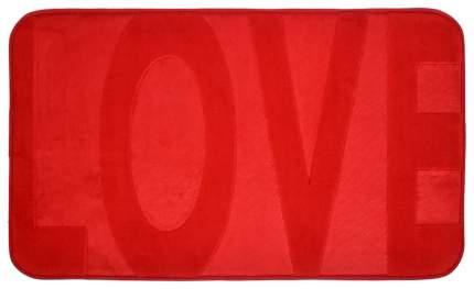 Коврик для ванной Vortex Love 24120 45х75 см Красный