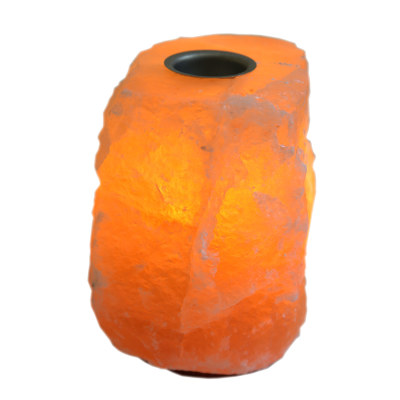 Соляная лампа Арома 3-4кг с диммером с эф. маслом