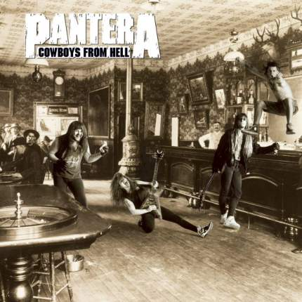 Аудио диск Pantera Cowboys From Hell (CD)