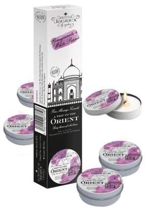 Набор из 5 свечей Mystim Petits Joujoux Orient с ароматом граната и белого перца 33 г