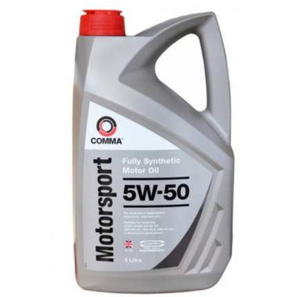 Моторное масло Comma motorsport 5W-50 5л