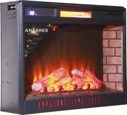 Очаг электрокамина InterFlame Antares 31 Black LED FX QZ