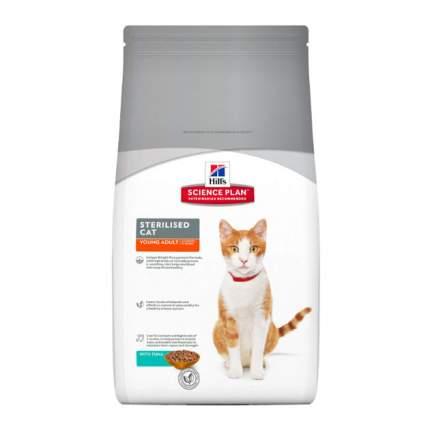 Сухой корм для кошек Hill's Science Plan Sterilised, для стерилизованных, рыба, 3,5кг