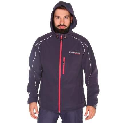 Куртка для рыбалки NOVA TOUR Fisherman Грейлинг Pro, S INT/176, графит