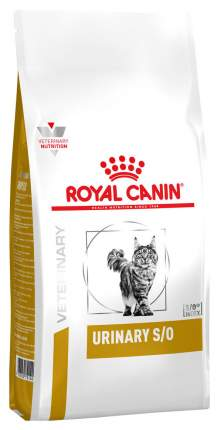 Сухой корм для кошек ROYAL CANIN Urinary S/O LP 34, лечение и профилактика МКБ, 1,5кг