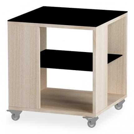 Журнальный стол Leset 45х49х45 см, серый/белый/коричневый