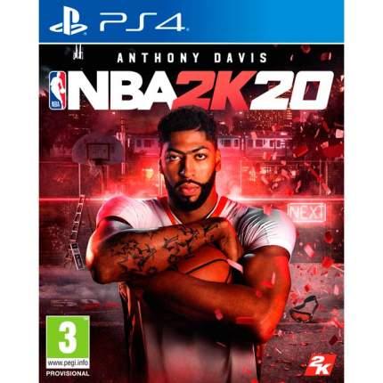 Игра NBA 2K20 для PlayStation 4