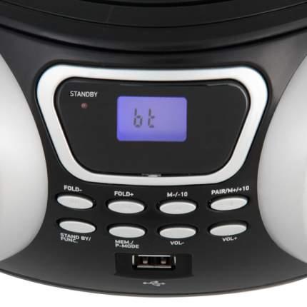 Магнитола BBK BX170BT Серебристый, черный