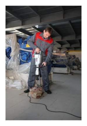 Сетевой отбойный молоток Зубр ЗМ-40-1700 К