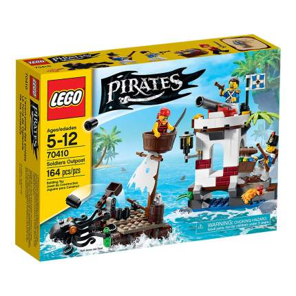 Конструктор LEGO Pirates Военный блокпост (70410)