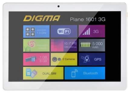 Планшет Digma Plane 1601 3G White (PS1060MG)