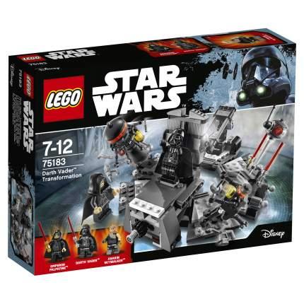 Конструктор LEGO Star Wars Превращение в Дарта Вейдера (75183)