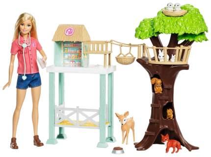 Куклы Barbie спасатель животных FCP78