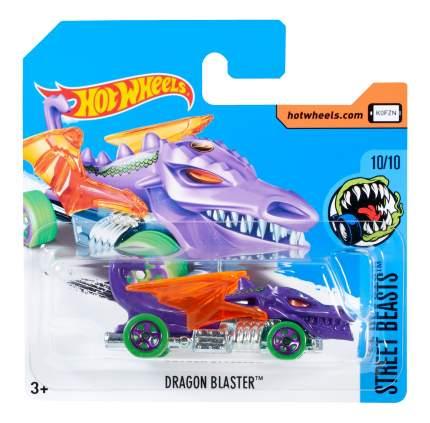 Машинка Hot Wheels Dragon Blaster TH 5785 DVD11