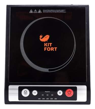 Настольная электрическая плитка Kitfort КТ-107 Черный