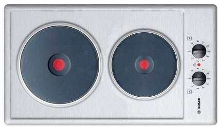 Встраиваемая варочная панель электрическая Bosch PCX345E Silver
